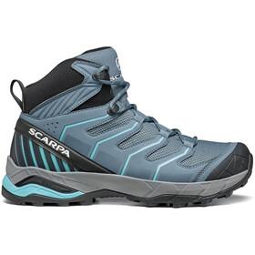 Scarpa Maverick GTX Mid Shoes Women storm gray/aqua